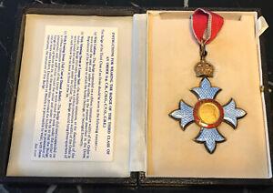 CBE medal - Type II - Civil division - Commander - Order Of The British Empire