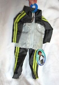 """My Life as AG OG 18"""" BOY Doll Clothes Outift Track Warm Up Suit Jacket Pants Set"""