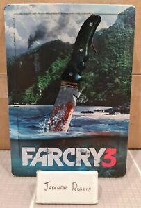Far Cry Farcry 3 Steelbook Australian Exclusive Collectors version G1 size
