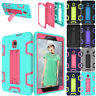 For Samsung Galaxy Tab A 8.0 T380 2017 Heavy Duty Hybrid Rubber Stand Case Cover