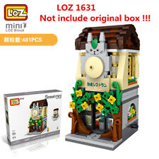481pcs LOZ MINI Blocks DIY Building Kids Toys Puzzle Cartoon Store 1631