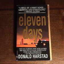 Donald Harstad ELEVEN DAYS Carl Houseman Story Paperback Novel 1999 book pb