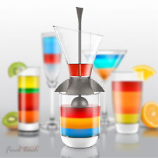 Final Touch Rainbow Coctail 3 piece set : set per cocktail arcoblaeno multicolor