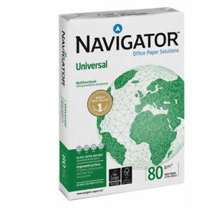 100000 Blatt = 1 Palette Kopierpapier Navigator Universal DIN A4 80g/m² weiß
