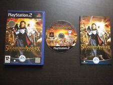 JEU Sony PLAYSTATION 2 PS2 : LE SEIGNEUR DES ANNEAUX, LE RETOUR DU ROI (complet)