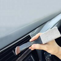 Double-end Car Air Vent Dash Dust Brush Detail Detailing Cleaning Brush Tool