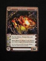 Chaotic Trading Card BALAAN Creature 16/100 MINT