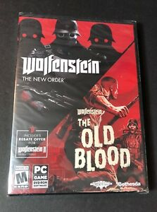 Wolfenstein 2-Game Pack [ The NEW Order & the Old Blood ] (PC / DVD-ROM) NEW