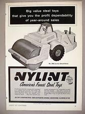 Jumbo Street Roller No. 2050 PRINT AD - 1971 ~ Nylint Steel Toys