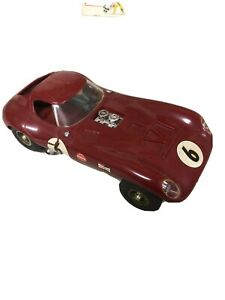 COX RTR Monocoque Design Cheetah Red FOR 1/24 SLOT CARS Fully Assembled