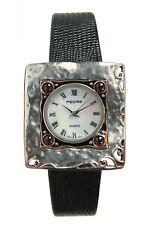 Pedre Women's Antique Finish Sterling Silver .925 Watch 7725SX. New and unworn.