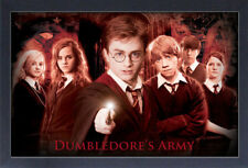HARRY POTTER DUMBLEDORE'S ARMY 13x19 FRAMED GELCOAT POSTER GIFT NEW MAGIC WIZARD