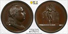 1816 France Louis XVIII Bronze Medal PCGS SP64 Lot#GV459 Collignon-84