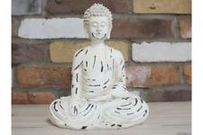 More details for serene buddha statue artisan home decor peace faith meditation balance yoga gift