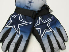 New Dallas Cowboys Winter Ski Gloves Tailgate Game Mens Size L/XL Forever