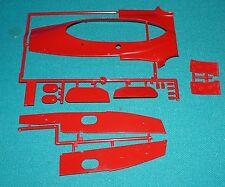 Ferrari 312T Tamiya 1/12 Big Scale Series Formula One Body Parts New!