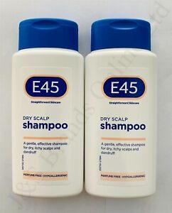 2 x E45 Dry Scalp Shampoo 200ml Exp: 30-09-2023