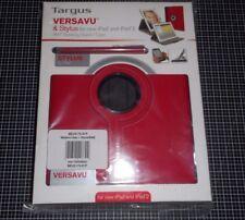 Targus BEU3175 01P - Etui + Stylus Rouge Pour iPad, 2, 3 et Compatible 4