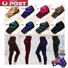 fb782910b6cc26 AU Women Thermal Thick Warm Fleece lined Fur Winter Tight Pencil Leggings  Pants