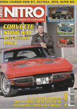NITRO n°221 04/2006 CORVETTE STING-RAY 1963 MUSTANG PACE CAR 1979 FORD 1939