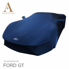 FORD GT OEM INDOOR CAR COVER   2016-ON   BLUE   MIRROR POCKETS   NEW   TAILORED