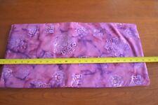 By 1/2 Yd, Plum & Purple Quilting Cotton Batik, N1263