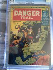 Danger Trail #3 Cgc 5.0 1950 Dc