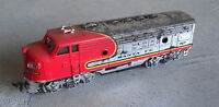 Vintage HO Scale Bachmann Weathered Santa Fe 307 Locomotive