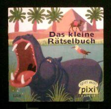 pixi Buch  Nr.: 1318     Das kleine Rätselbuch