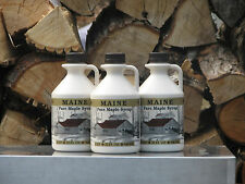 Maine Maple Syrup Bundle #6, Grade A Amber Color, Rich Flavor