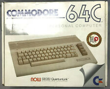 Commodore 64c Computer Tested with Power Supply/Books/GEOS/BOX,  SN:CA1535597