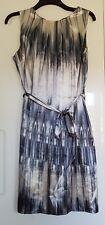Shift dress by WALLIS, Size UK 18 (EUR 46), cream and grey