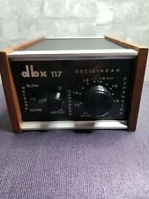 DBX 117 Compressor Expander Excellent Working Condition