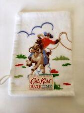 CATH KIDSTON COWBOY BATH MITT /  CLOTH BRAND NEW