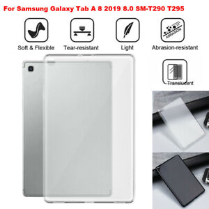 For Samsung Galaxy Tab A 8 2019 8.0 SM-T290 T295 TPU Solf Shock-proof Case Cover