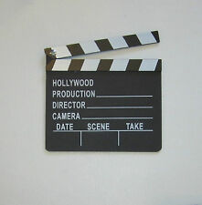 1 NEW MOVIE DIRECTOR'S CLAPBOARD PROP HOLLYWOOD CLAPPER CHALKBOARD PARTY DECOR