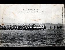 TOUL (54) FANFARE MILITAIRE du 156° de ligne sur CHAMP DE MARS en 1904