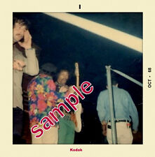 Jimi Hendrix & Virgil Gonsalves Winterland Oct 1968 Snapshot Set (4) 4x4 Sale