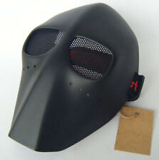 Black Airsoft BB Mask Skull Army of Two Fiberglass VTG Top