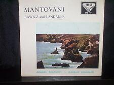 "MANTOVANI ""RAWICZ and LANDAUER"" 7"" 45 RECORD P/S"
