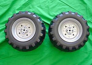 **NEW** Peg Perego Polaris Outlaw Rear Wheel Tire Set (2 Tires)