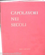 CAPOLAVORI NEI SECOLI Vol I Dalle Origini all arte egiziana A cura Dino Fabbri