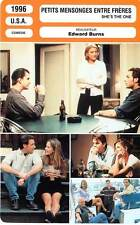 FICHE CINEMA : PETITS MENSONGES ENTRE FRERES - Burns,Aniston 1996 She's The One