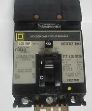 Square D 100A 3 Pole Series 2 Circuit Breaker Fh36100 . Yc-242