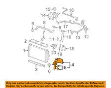 Cadillac GM OEM 06-11 DTS 4.6L-V8 Radiator-Side Baffle Left 25769579
