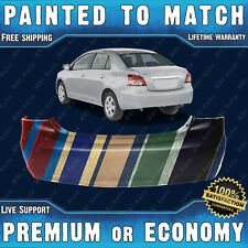 NEW Painted To Match - Rear Bumper Replacement for 2007-2012 Toyota Yaris Sedan