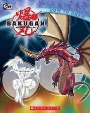 Bakugan: How to Draw (2009, Paperback) Battle Brawlers