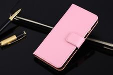 Leather Flip Case for Apple iPhone 7 & 7 Plus Wallet Stand Cover Card Holders PU