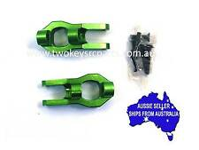 Alloy Caster Blocks to suit Vaterra Twin Hammers 1:10 RC -  Green