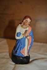 Ancien santon de Noël - Vierge Marie